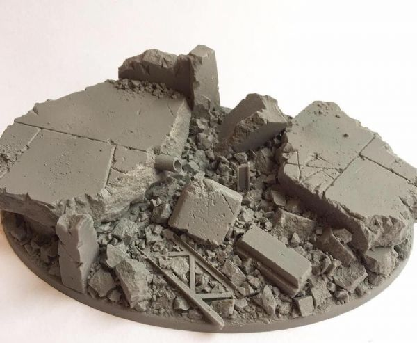 170mm 'Knight' Urban Rubble Base